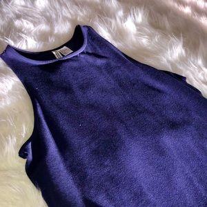 H&M Divided Purple Bodycon Dress
